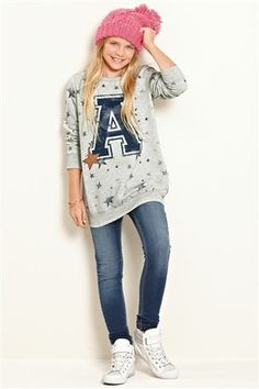 Buy Letter Sweat Top (3-16yrs) from the Next UK online shop
