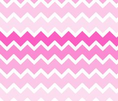 Hot Pink Grey Gray Ombre Chevron Wallpaper, Fabric, and Wrapping Paper. Add matching items, such as wall border, duvet, shower curtain, rug, clock, and more #decampstudios