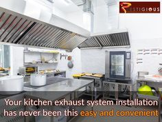 Your Kitchen exhaust systems installation has never been this easy and convenient. Contact Us today!