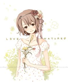 LOVE NATURE by cartoongirl7 on DeviantArt