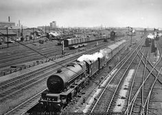 Edge Hill Yards, Liverpool, with express... (C) Ben Brooksbank :: Geograph Britain and Ireland