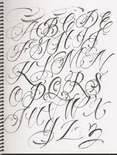 Discover recipes, home ideas, style inspiration and other ideas to try. Lettering Styles Alphabet, Cursive Fonts Alphabet, Graffiti Alphabet Styles, Tattoo Lettering Styles, Graffiti Lettering Fonts, Chicano Lettering, Lettering Guide, Tattoo Lettering Fonts, Tattoo Script