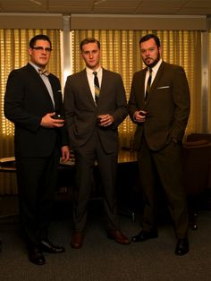 Dress Like the Mad Men: The Style of Harry Crane Mad Men Party, Don Draper, Madison Avenue, Wedding Men, Wedding Styles, Wedding Themes, Men's Style Icons, 60s Style, Movies