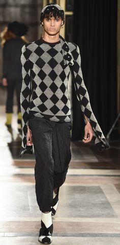 Wales Bonner Fall 2017 Menswear