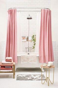 4 pink bathtub