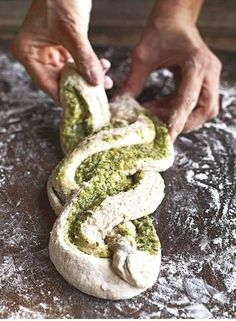 From the Liguria region of Italy, this classic starter moves beyond a simple garlic bread recipe to showcase sage. From the Liguria region of Italy, this classic starter moves beyond a simple garlic bread recipe to showcase sage. Bread Machine Recipes, Easy Bread Recipes, Cooking Recipes, Cooking Tips, Sage Recipes, Garlic Recipes, Lemon Balm Recipes, Cornbread Recipes, Starter Recipes