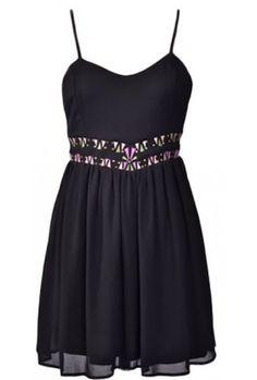 The Black Chiffon Dress $29.00