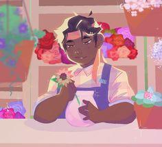 Hunk believes in flower power ha|kiwi