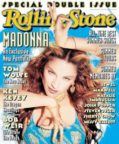 Madonna- Rolling Stone Cover, 1998.