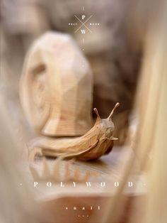Sculpted Wood animals by Mat Szulik