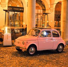 Fiat 500. Vintage. Instagram @ jj_pernqvist.