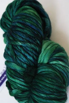 Malabrigo rasta in solis - breathtaking.