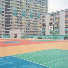 Unusual Sport Courts by photographer Ward Roberts