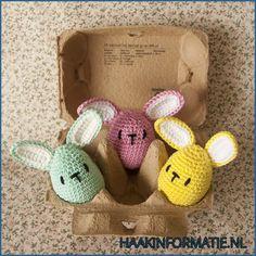 Easter Crochet Patterns, Chrochet, Animal Crossing, Baby Shoes, Bunny, Crochet Hats, Diy Crafts, Christmas Ornaments, Holiday Decor