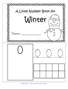 this is a booklet to review and practice counting and number recognition 0 10
