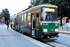 the tram, helsinki, finland