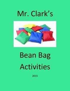 Physical Education Bean Bags