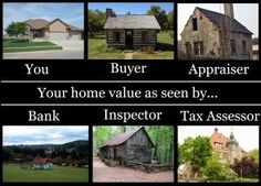 You + Buyer + Appraiser + Bank + Inspector + Tax Assessor = #RealEstate Value collage! Laugh of the Day re-pinned by http://AccessRealEstateSanCarlos.com Real Estate Humor   Google Search