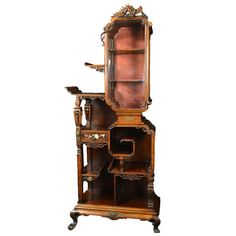 French Chinoiserie Art Nouveau Cabinet by Gabriel Viardot (1830—1906) | From a unique collection of antique and modern cabinets at http://www.1stdibs.com/furniture/storage-case-pieces/cabinets/