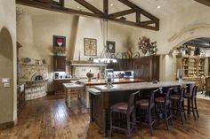 Beautiful wood floors - Scottsdale AZ -Phoenix Luxury Homes - www.InzalacoTeamAZ.com
