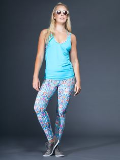 Printed Core Legging by VIMMIA - BOTTOMS & LEGGING