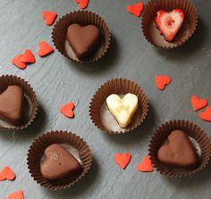 Dark Chocolate Fruit Hearts! = Healthy Valentines Day!