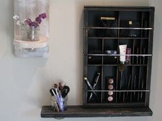 Printers Drawer Cosmetic Organizer by BlackForestCottage on Etsy