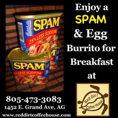 Spam and Egg Burritos Egg Burrito, Spam, Burritos, Eggs, Lunch, Dinner, Breakfast, Healthy, Red