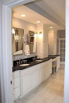 Black Bathroom Granite Countertops U2013 In A Large Private Room