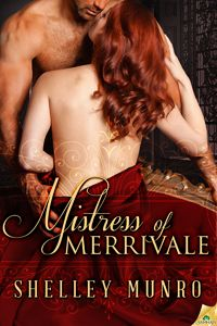 A marriage of convenience…full of inconvenient secrets.  http://store.samhainpublishing.com/mistress-merrivale-p-73291.html
