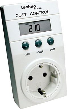 Technoline Cost Control Energiekostenmessgerät weiß for sale online Control, Retro, Cooking Timer, Home And Garden, Home Appliances, Authors, Ebay, Relationships, Novels