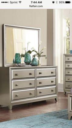 Elegant Wayfair Dresser with Mirror