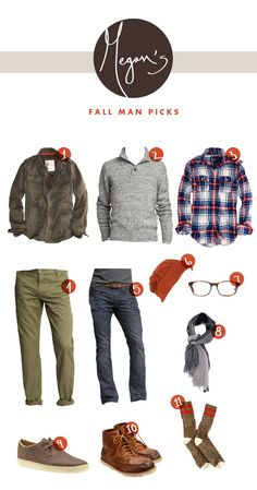 The Fresh Exchange: Megan's Fall Man Picks