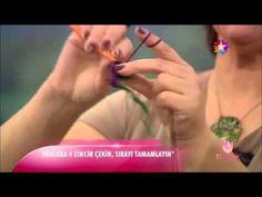 Tülin İriş - otantik görünümlü el örgüsü ev dekorasyonları (star tv - melek programı) 25 Eylül 2014