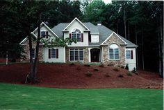Craftsman House Plan chp-43694 at COOLhouseplans.com