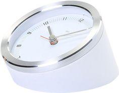 "3.5"" Blanco Executive Alarm Clock"