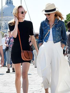 Star Tracks: Thursday, September 10, 2015 | FESTIVAL FRIENDS | Diane Kruger and Elizabeth Banks take a break from attending the Venice Film Festival to explore the sights in Italy on Wednesday.