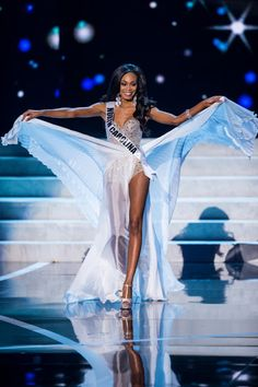 Nick Verreos: SASHES AND TIARAS.....Miss USA 2013 Preliminary Evening Gown Competition: Slit Queens, Blue Belles, Lipstick Ladies and Pageant Betty's!