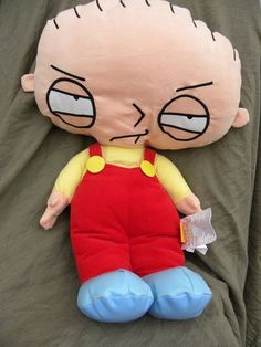 Stewie Griffin Doll Plush Family Guy Large Soft Toy Stuffed 24 in Pillow #FamilyGuy