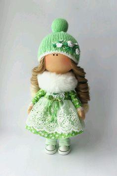 Купить Интерьерная куколка - кукла ручной работы, кукла в подарок, кукла, кукла интерьерная