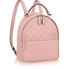 Sorbonne Backpack ($2,530) ❤ liked on Polyvore featuring bags, backpacks, travel rucksack, pink bag, travel bag, knapsack bag and backpack bags