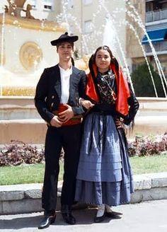 Traje típico de Jaén.