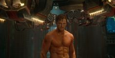 chris pratt guardians of the galaxy - WOW! He went frome cute and cuddly to hot and sexy!
