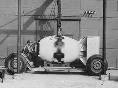 """""""Fat man"""". la bombe atomique larguée sur Nagasaki"""