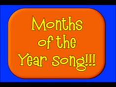 Months of Year Song! - YouTube