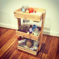 DIY Pallet Rack - 4 Creative Ideas for Pallets | 99 Pallets