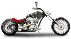 Orange County Choppers - Vampire Bike #occ