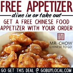 Take home some of the best Chinese in town tonight and get a Free Appetizer! #free #freeappetizer #chinesefood #stillwatermn http://www.gobuylocal.com/offerseo/Stillwater-MN/Mara_Mi/1682/725/