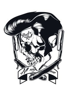 Scull illustrations Vol. 1 by Shulyak Brothers , via Behance