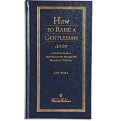 Brooks BrothersHow to Raise a Gentleman by Kay West Hardcover Book